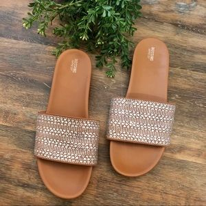 Mossimo Supply Co Rhinestone Slides